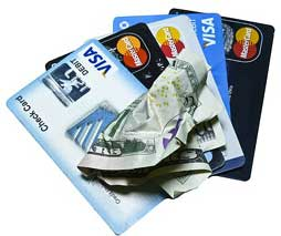 debt and credit cards photo